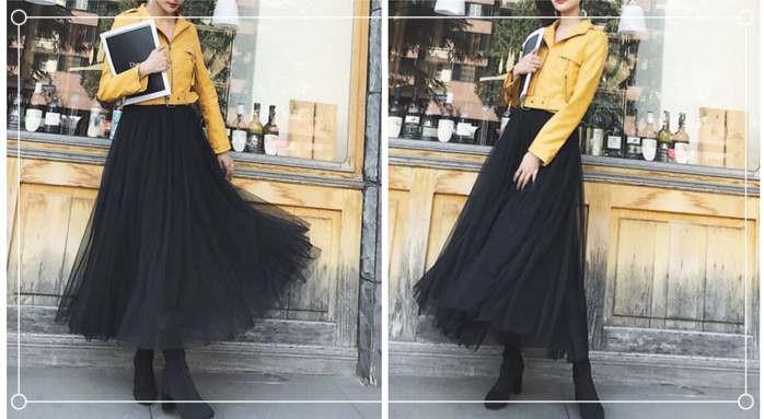 长裙怎么搭配外套好看?第四种搭配只适合高个